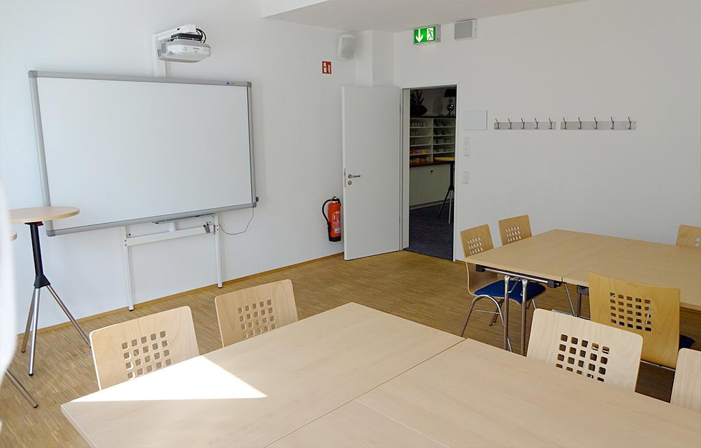 Der Klassikraum - Idealer Besprechungs- und Seminarraum für kleinere Gruppen