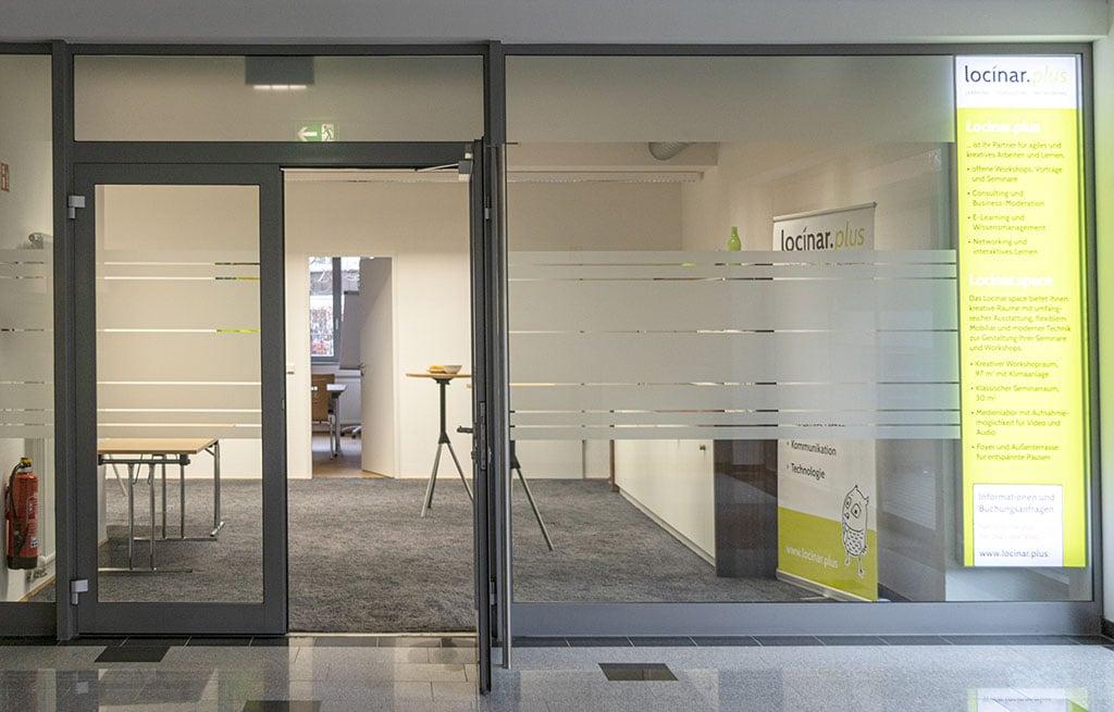 Eingang Locinar.space