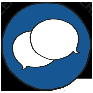 """Icon """"kundenzentriert agieren"""""""